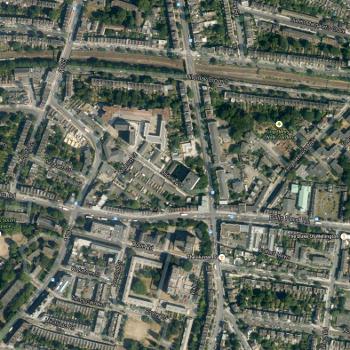 Islington, satellite view
